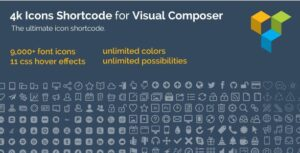 4k-icon-fonts-visual-composer