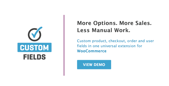 WooCommerce Custom Fields v2.2.4