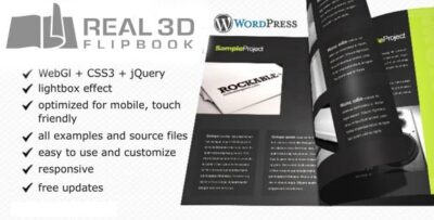 Real3D-FlipBook-WordPress-Plugin