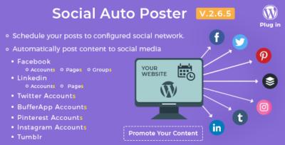 Social-Auto-Poster-WordPress-Plugin